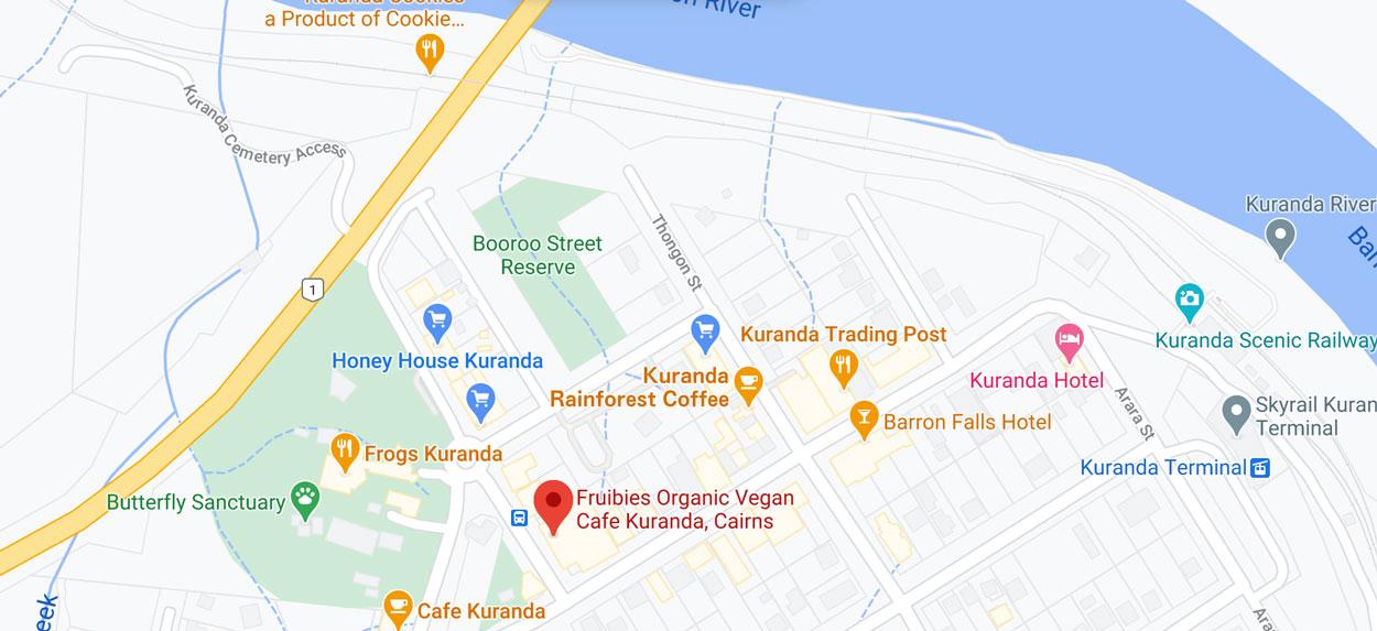 Find Fruibies in Kuranda