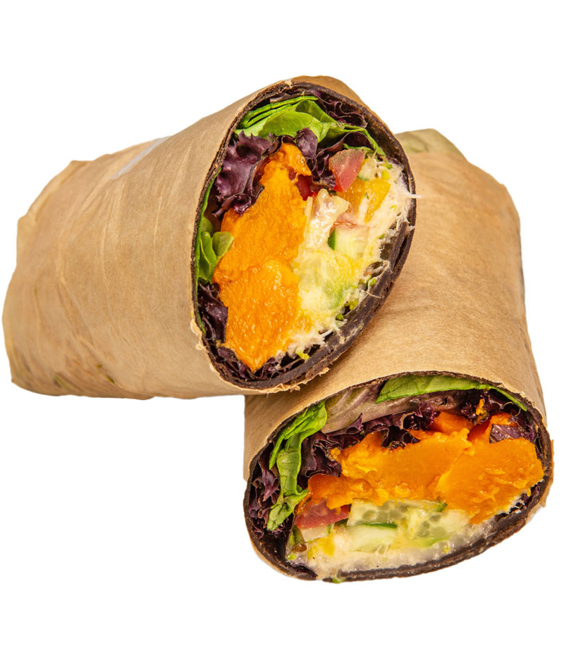 Fresh Organic Vegan Wraps